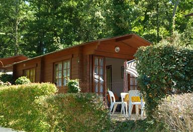 Location chalet 4 personnes - Camping Charente-Maritime