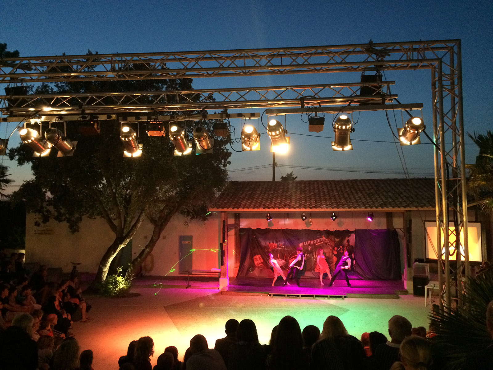Camping Bois Soleil spectacle animateurs