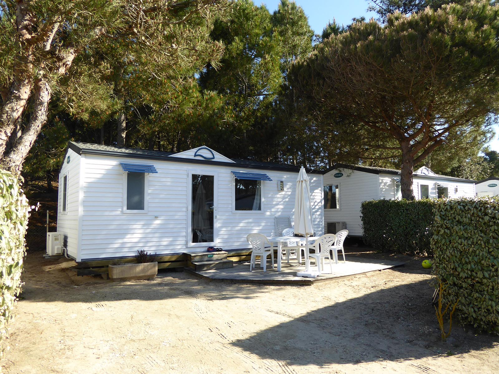 Camping Bois Soleil Cottage Mer 2 chambres